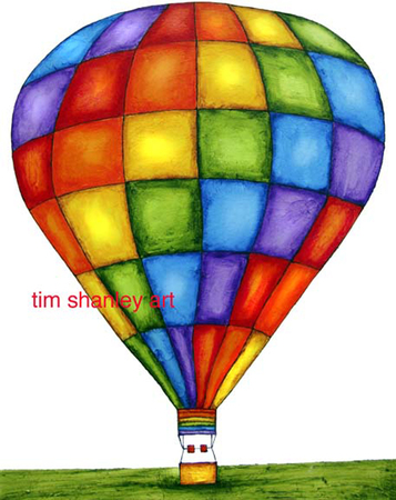 Colored Balloon